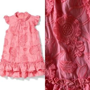 Janie and Jack Embroidered Tier Dress